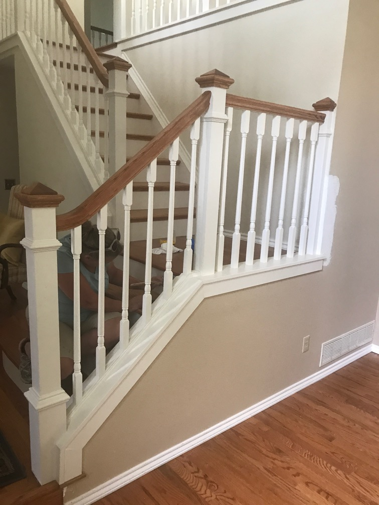 traditional looking staircase